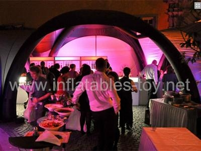 Inflatable X-tent for Trade Show