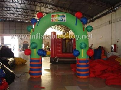 Outdoor Inflatable Sports Arch, Waterproof Finish Line Arches 6