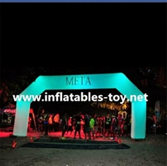 Inflatable Lighting Arch,Sports Event Running Race Inflatable Lighting Archway