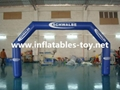 Inflatable Start Finish Lind Arch with Customized Logo Printing