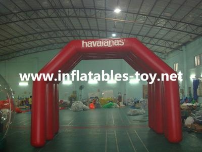 Inflatable Finish Start Lind Arch