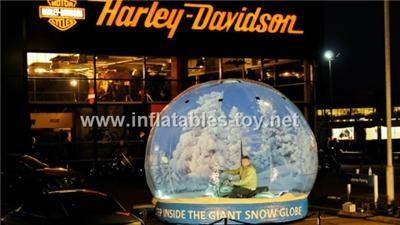 Christmas decorations snow globe