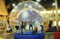 Human Snow Globe with Artifical Snow for Blowing Up 14