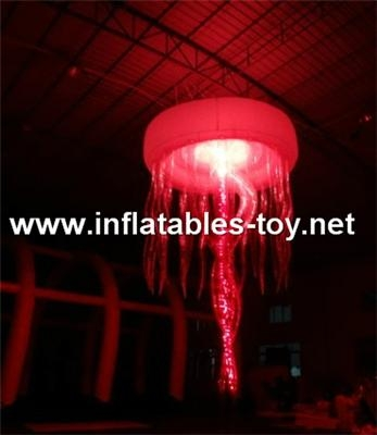 jellyfish inflatable party decoration,inflatable lighting jellyfish decoration