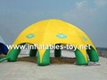 Inflatable Spider Dome Tent, Inflatable