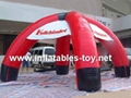 inflatable spider dome tent
