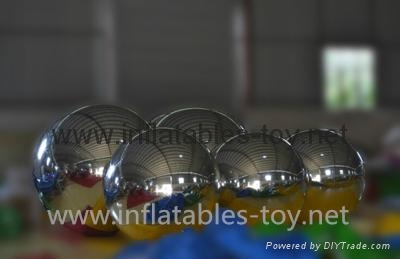 Inflatable Mirror Balloons Ornaments For Advertising Promotion