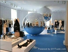 PVC  Decoration Inflatable Advertising Mirror Balloons For Fashion Show