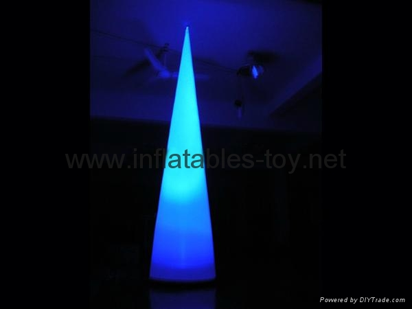 Party event lighting inflatables