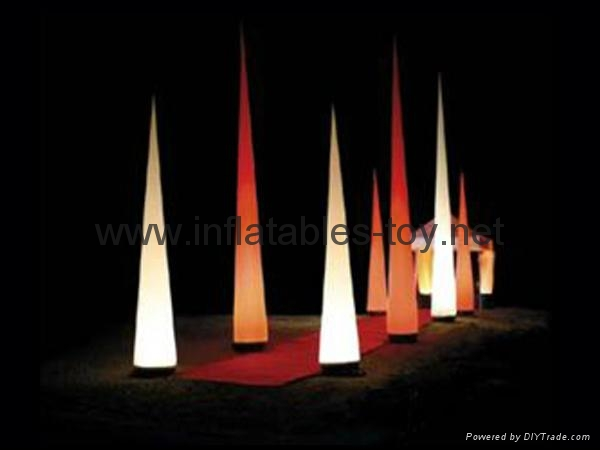 Lighting inflatable cone for sale