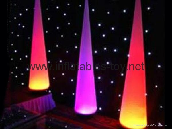 Hoting sales inflatable lighting decoration