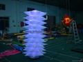 inflatable lighting decoration towers