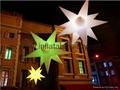 lighting decotation inflatable star
