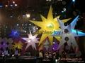lighting inflatable star