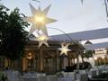 inflatable lighting star decoration