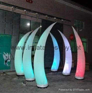 inflatable tower lighting decorations