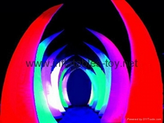 inflatable lighting cone decorations
