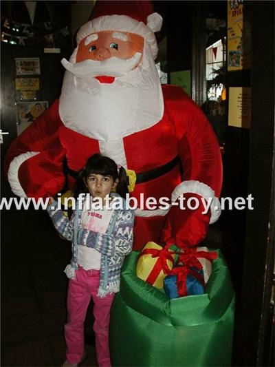 inflatables santa claus for Christmas 8