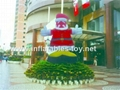 inflatables santa claus for Christmas 7