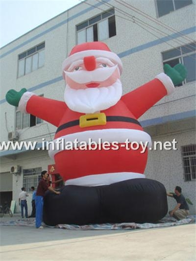 inflatables santa claus for Christmas 6