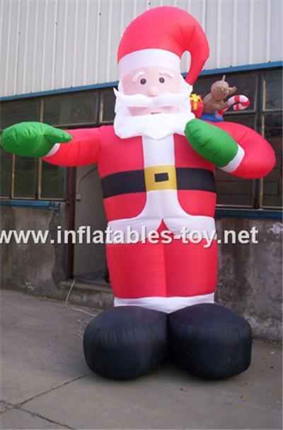 inflatables santa claus for Christmas 5