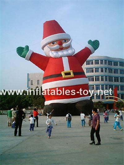 inflatables santa claus for Christmas 4