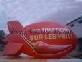 Inflatable Blimp Balloon, Helium Floating Spheres  6