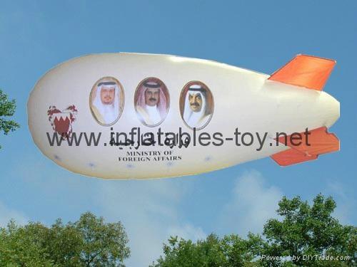 Inflatable Blimp Balloon, Helium Floating Spheres  7