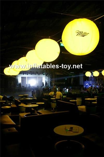 LED Lighting Balloon with Printing for Advertising