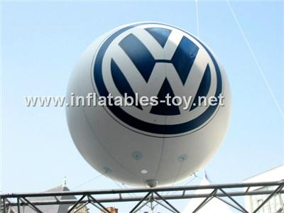 Advertising Inflatable Helium Balloon,Full Color Printing Balloon 1