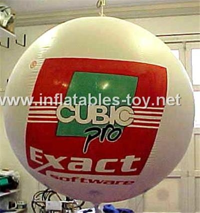 Advertising Inflatable Helium Balloon,Full Color Printing Balloon 10