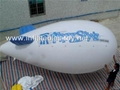 Voted Helium Blimp, Advertising Inflatable Zeppelin Balloon 5