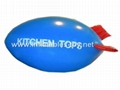 Voted Helium Blimp, Advertising Inflatable Zeppelin Balloon 9