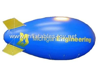 Voted Helium Blimp, Advertising Inflatable Zeppelin Balloon 8