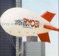 Voted Helium Blimp, Advertising Inflatable Zeppelin Balloon 1