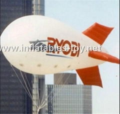 Voted Helium Blimp, Advertising Inflatable Zeppelin Balloon