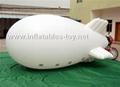 Voted Helium Blimp, Advertising Inflatable Zeppelin Balloon 10