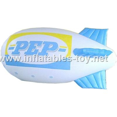 Voted Helium Blimp, Advertising Inflatable Zeppelin Balloon 11