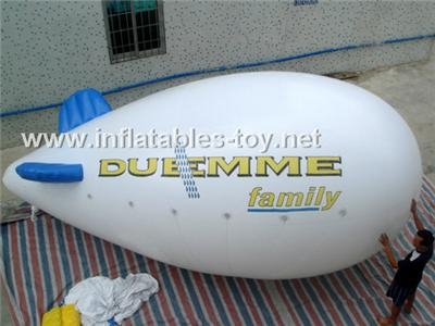 Voted Helium Blimp, Advertising Inflatable Zeppelin Balloon 12