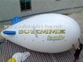 Voted Helium Blimp, Advertising Inflatable Zeppelin Balloon 12