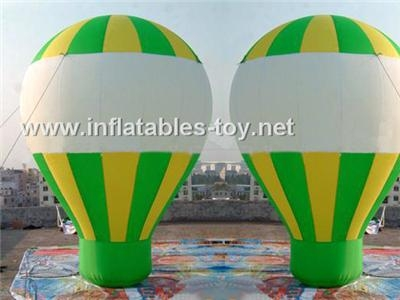 Inflatable Roof Top Balloon, Advertising Ground Balloon 1