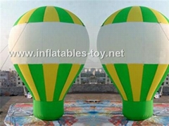 Inflatable Roof Top Balloon, Advertising Ground Balloon