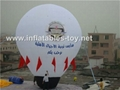Inflatable Roof Top Balloon, Advertising Ground Balloon 4