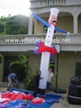 Car Wash Inflatable Air Dancer,Advertising Sky Dancer,Outdoor Flying Guys  19