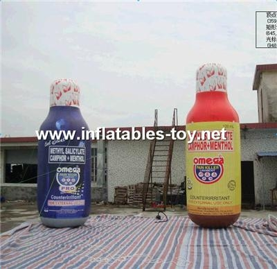 Inflatable Bottles Shape, Advertising Product Replica 12