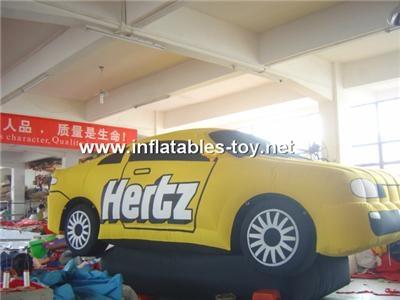 Inflatable Car Advertising Replica, Car Shape Model 10
