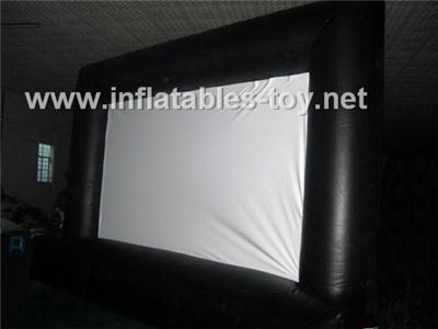 Water Floating Inflatable Movie Screen, Inflatable Projection Screen 2
