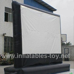 Outdoor Inflatable Movie Screen,Backyard Theater Projection Screen