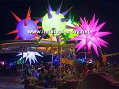 Inflatable Spiked Lighting Decorations