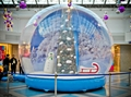 live show inflatable snow globe